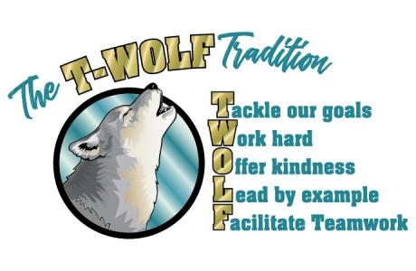 T-wolf Tradition Logo
