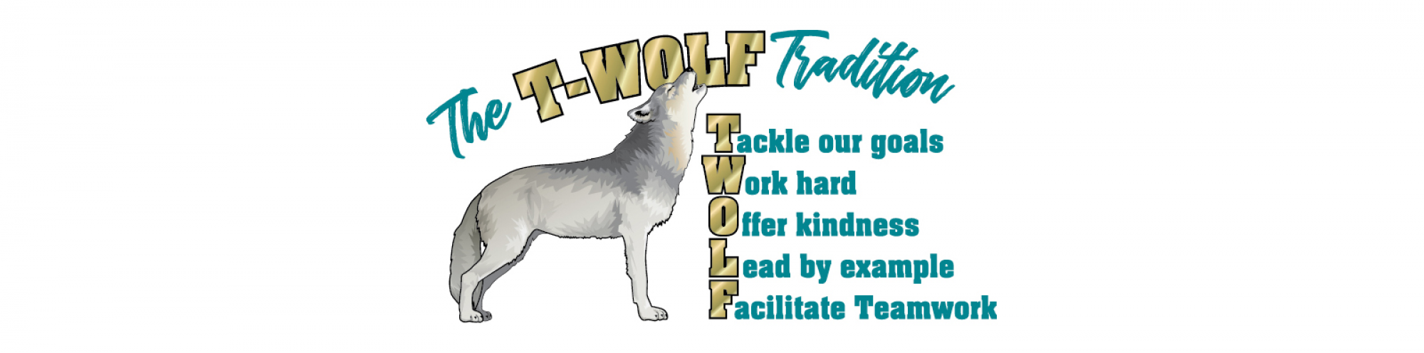 The T-WOLF Tradition Banner